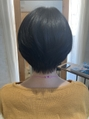 セットしやすいヘアースタイルを目指しています。